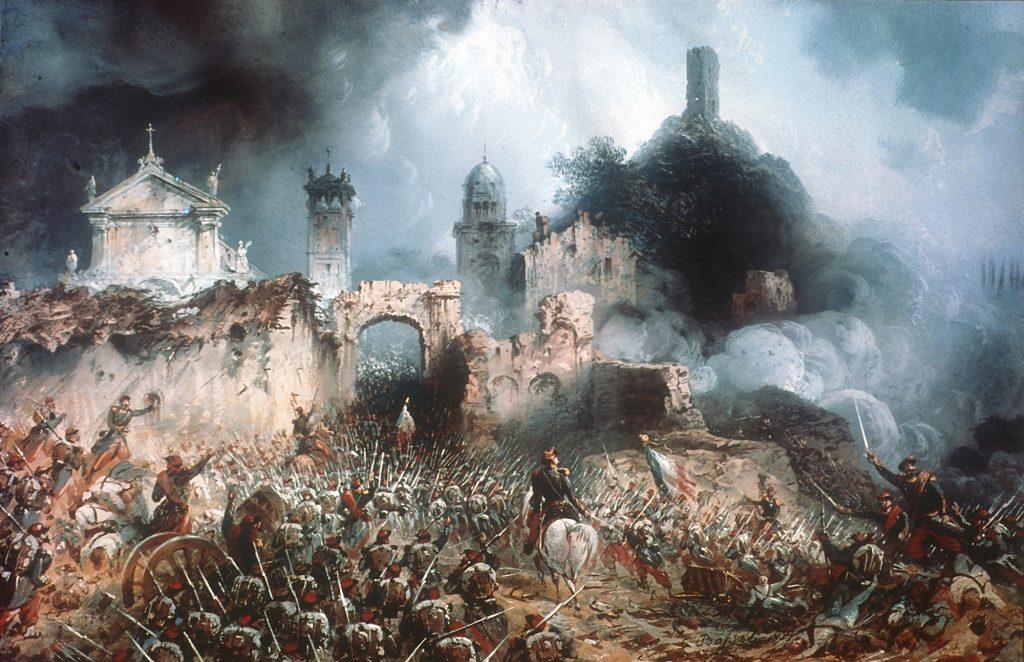 Carlo Bossoli, Battaglia di Solferino