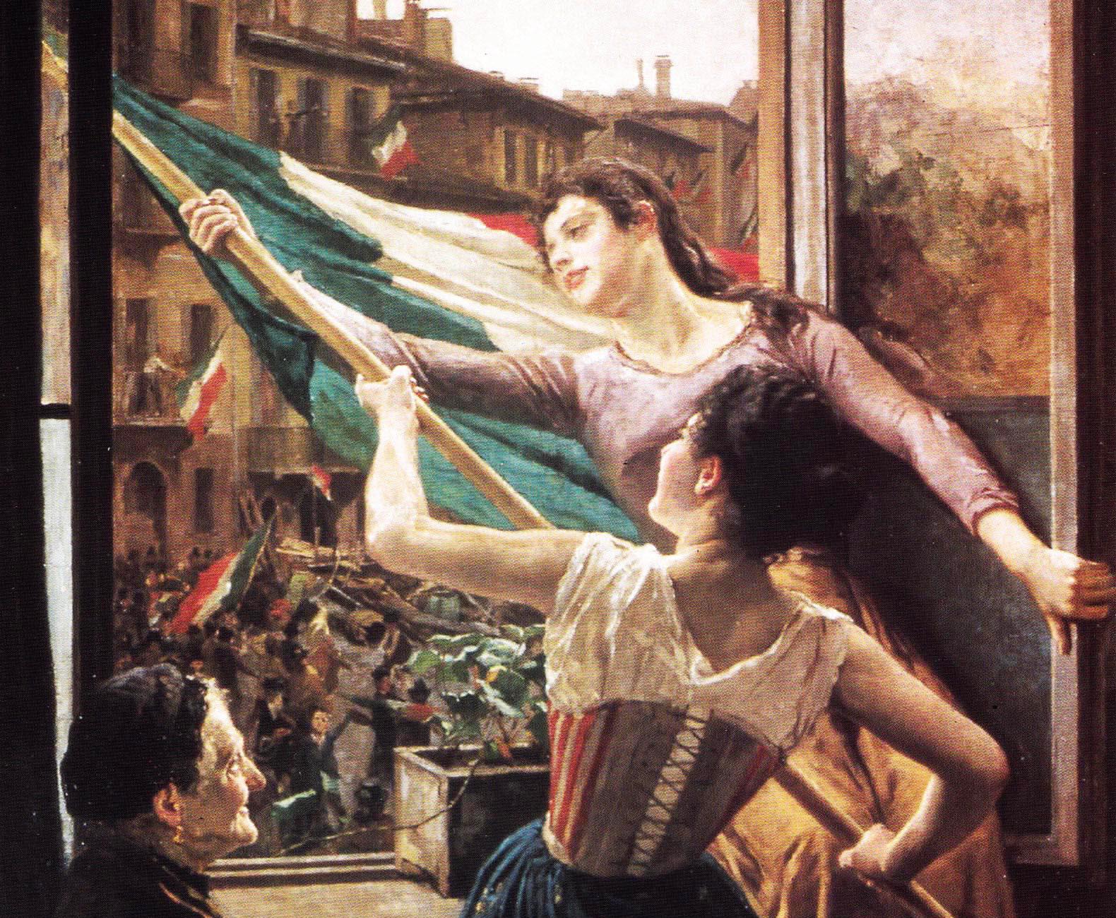 Carlo Stragliati Milano 1868-1925, Episodio delle Cinque Giornate, Milano, Museo del Risorgimento