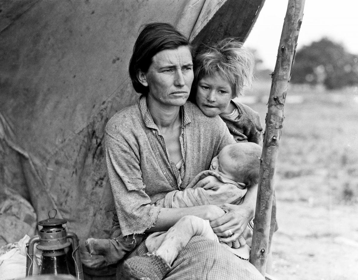La grande depressione - Foto di Dorothea Lange
