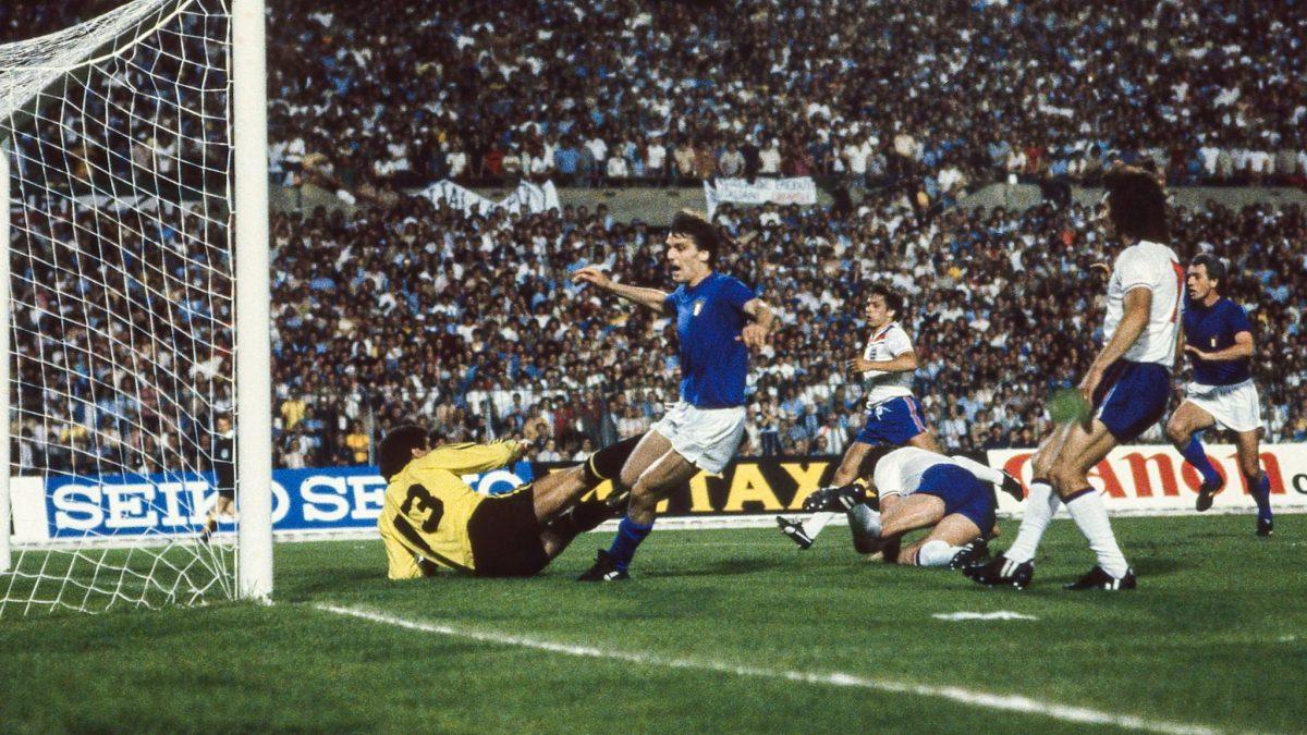15.06.1980 - Campionati Europei - Italia-Inghilterra 1-0 - Il gol di Tardelli